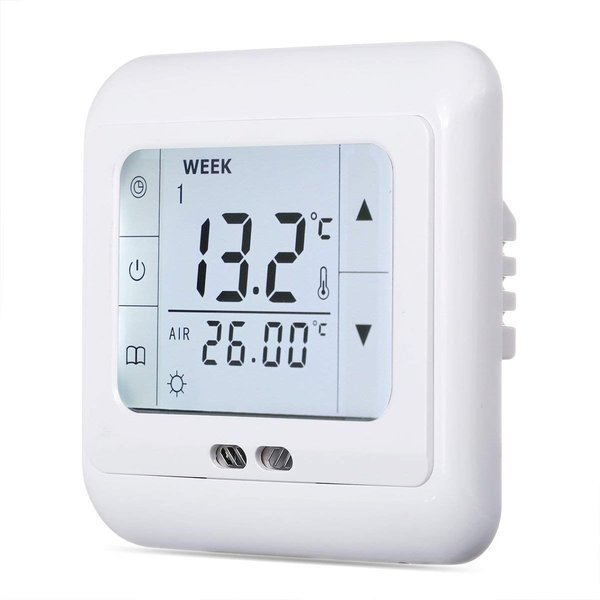 Digital Thermostat Ausgang potentialfrei mit Touchscreen #858